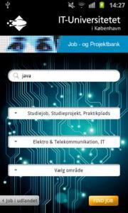 ITU Job- and Projectbank