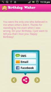 Birthday Wisher