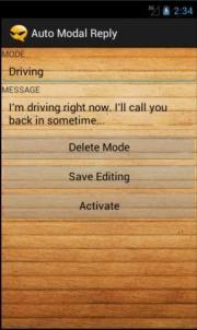 Auto Modal Reply
