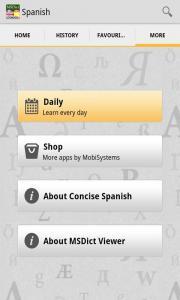 Concise Spanish