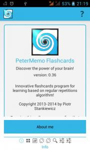 PeterMemo Flashcards