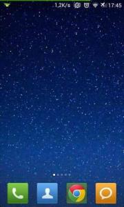Night Sky Stars Lite LWP