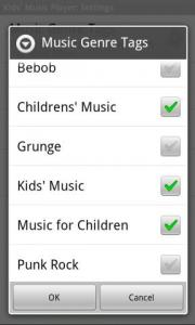 Kids' Music Player