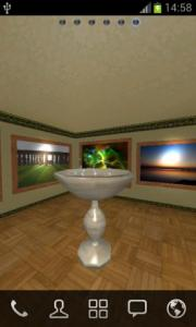 Virtual Photo Gallery 3D Wallpaper
