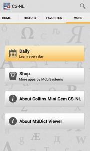 Collins Mini Gem CS-NL