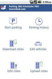 Parking SMS Scheduler PRO