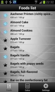 Diet & Calories Tracker