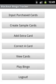 Blackout Bingo Tracker