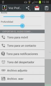 Voz Profundis (español)