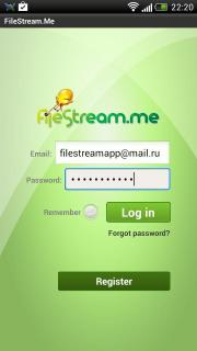 FileStream.Me Client