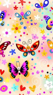 Cute Butterfly Live Wallpaper