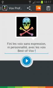 Vox Profundis (français)