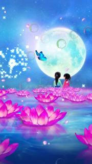 Enjoy Moon Live Wallpaper