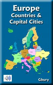 Learn Europe Countries And Capital Cities