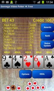 Video Poker ♠ Free