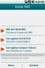 Panduan SMS BNI46