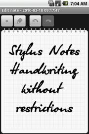 StylusNotes (Cupcake)