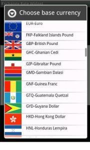 Exchange Rate Widget