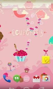 Sweet Cupcake Live Wallpaper