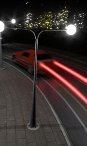 Cars at night