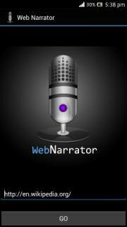 Web Narrator
