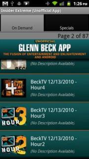 Glenn Beck (Unofficial) App
