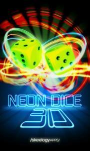 Neon Dice 3D