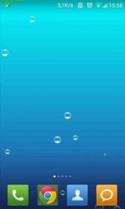 Simple Blue Bubbles LWP