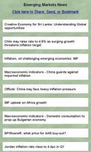 Emerging Markets News
