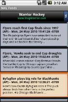 NHL Feeds