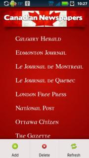 Canadian Newspapers