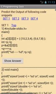 C Programming Quiz