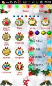 Christmas2013 GOLauncher EX Theme