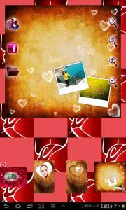 Romantic Photo Frames Free
