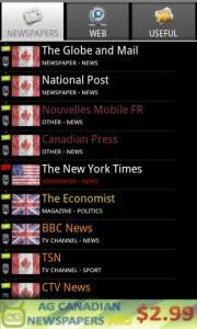 AG Canadian Newspapers FREE