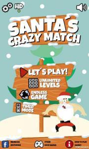 Santa's Crazy Match