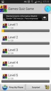 Games Quiz Game