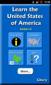Learn the United States of America