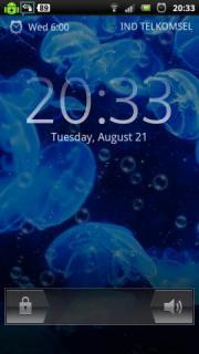 Underwater Bubble Jellyfish LWP