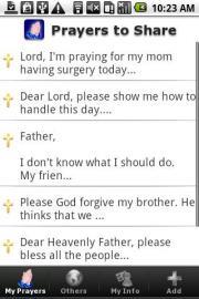 Prayers to Share