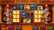 Pharaoh's Gold II Deluxe slot