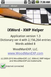 iXWord - XWP helper