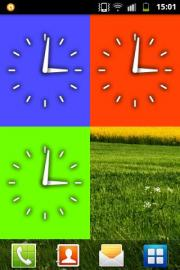 Analog clock Widget by LÁMA