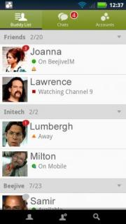 BeejiveIM for Live Messenger
