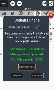 App Launcher with Optimization