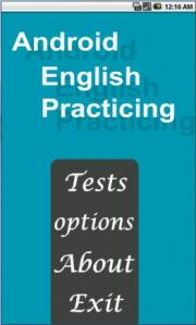 Android English practicing