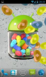 Jelly Beans Rain Live Wallpaper