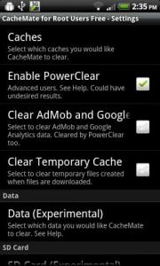 CacheMate for Root Users Free