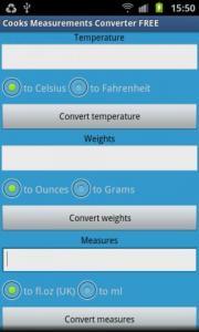 Cooks Measurements Converter FREE