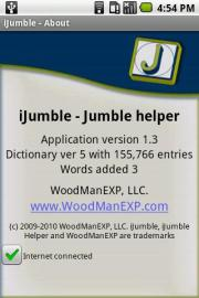 iJumble - Jumble helper
